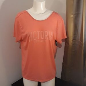 Victoria Sport NEW Workout Tee Size L